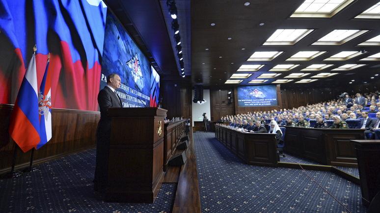 Stern: путинское «оружие Судного дня» смещает баланс устрашения в пользу России