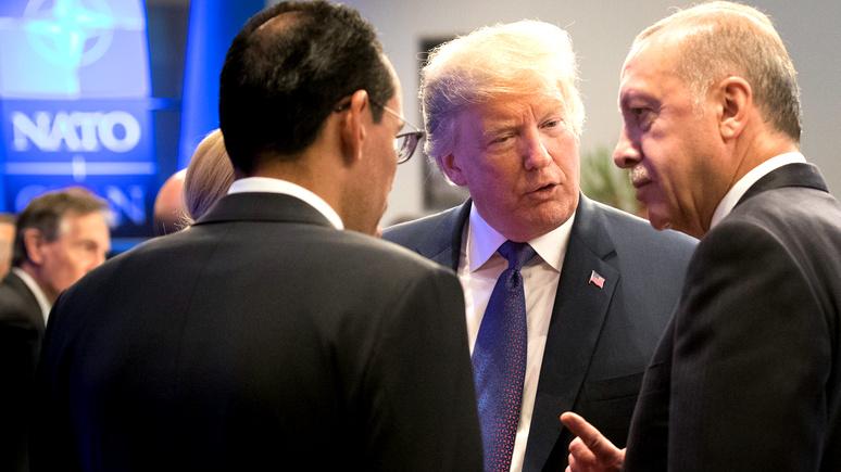 DW: Путину на руку — ссора Турции и США грозит лишить НАТО «элемента усиленного устрашения» России
