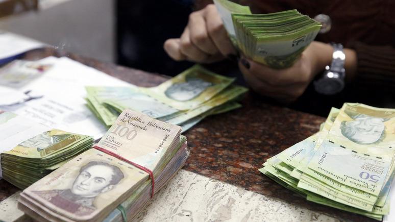 El País: гиперинфляция заставила Венесуэлу печатать банкноты с пятизначными суммами