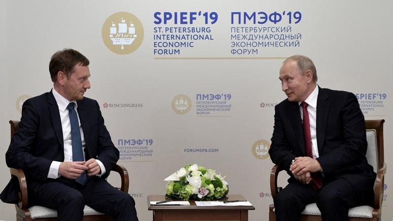 Bild нашёл три причины, почему премьер Саксонии использует Путина в предвыборной борьбе