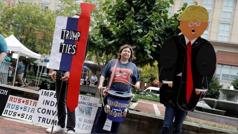 Hill: половина американцев уверены — штаб Трампа «сотрудничал» с Россией