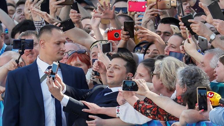 TAZ: соотечественницы не простили «первому парню на Украине» приступ сексизма в Париже