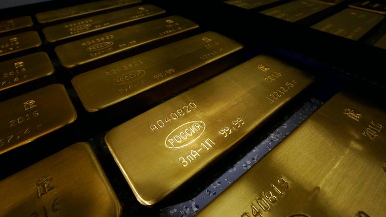 Обозреватель Bloomberg: ставка России на золото оправдалась и вдохновила другие страны