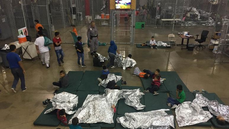 Sky News: в США растёт недовольство тем, как содержат детей мигрантов на границе