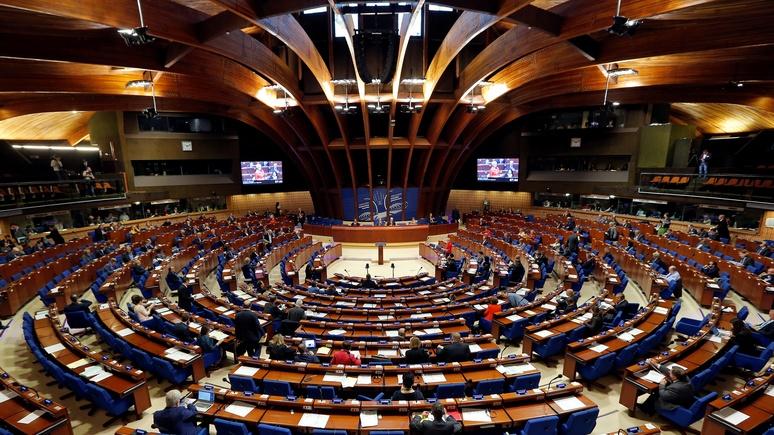 DLF проводила «наивный» Совет Европы в последний путь после реабилитации Москвы