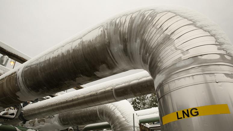 FAZ: американский «газ свободы» подрывает борьбу с глобальным потеплением