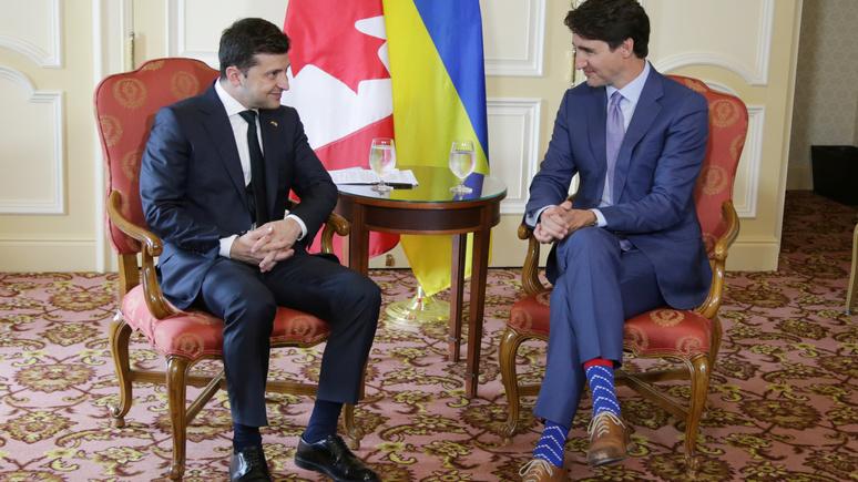 Radio Canada: Трюдо и Зеленский на встрече в Канаде выступили единым фронтом против России