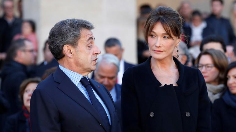 Le Parisien: журналу Paris Match досталось в соцсетях за «хитрости» с ростом Саркози