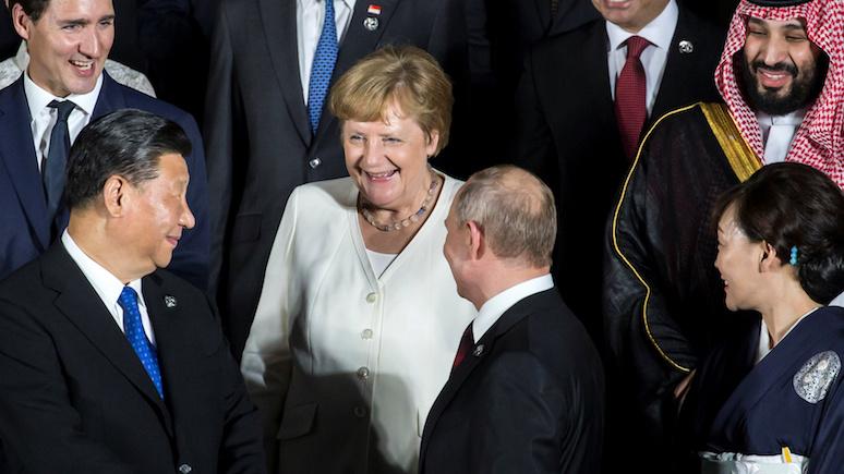 Wyborcza: санкции и падение рыночной конъюнктуры не ослабили экономического интереса Германии к России