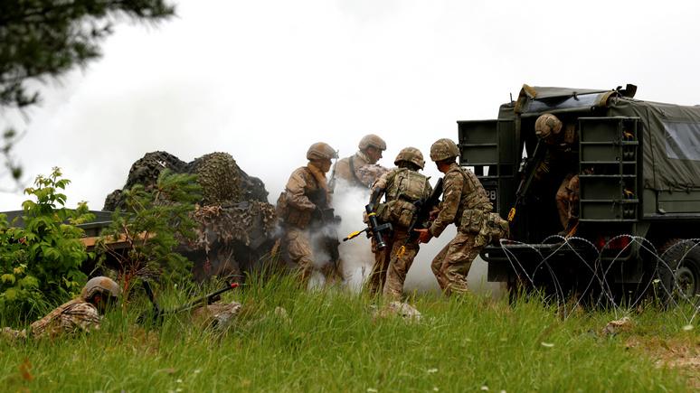 Daily Mail: британские коммандос продемонстрировали в Эстонии свою боеготовность