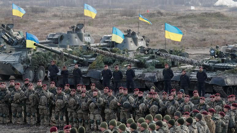 SvD: Киев хочет говорить о мире, но собирается закупать американское оружие