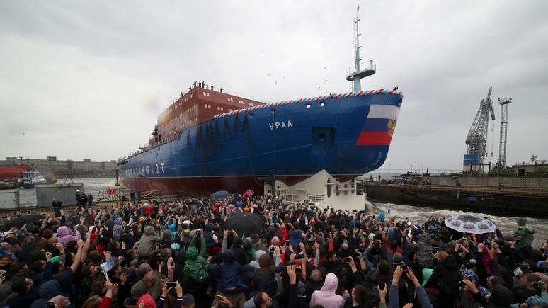 Times: Россия строит пятизвёздочные ледоколы, чтобы возить туристов по Арктике