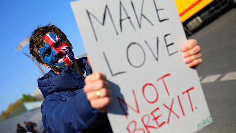 Times: брексит без сделки обернётся экономическим спадом в Великобритании
