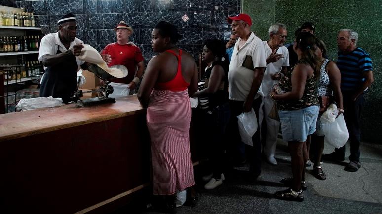 Spiegel: из-за санкций США на Кубе не хватает риса, курицы и мыла