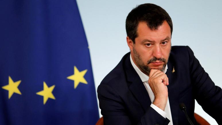 20 minutes: «с нас хватит» — Сальвини намерен противостоять Парижу и Берлину в вопросах миграционной политики