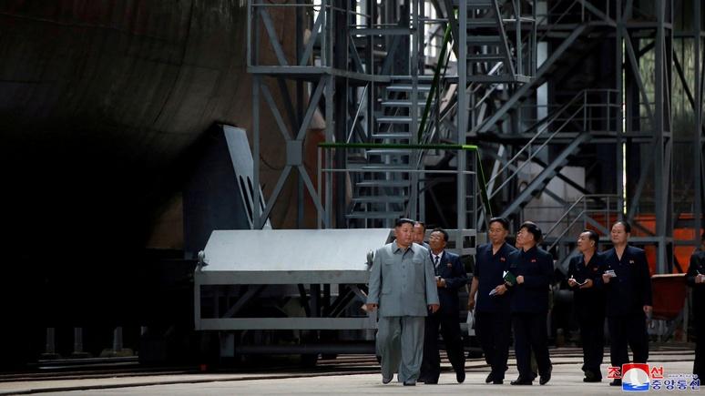 Washington Post: Ким «надавил» на Трампа подводной лодкой
