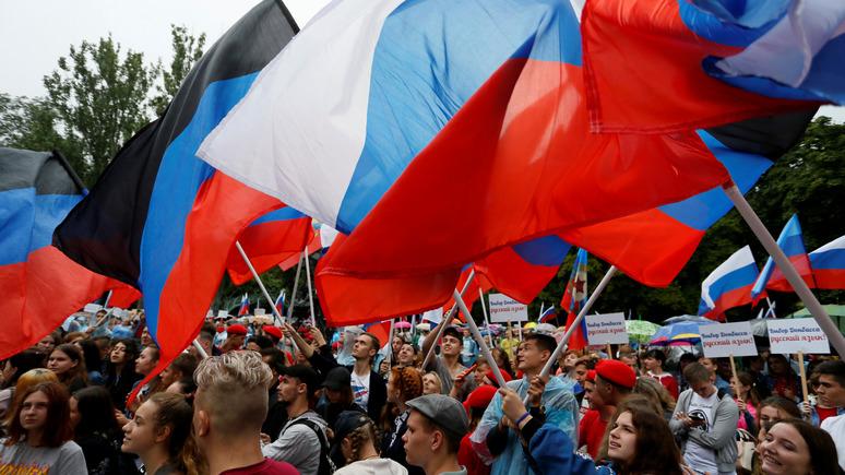 Лiга.net: в партии Зеленского рассказали о судьбе русского языка в Донбассе