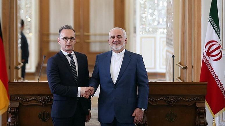 FAZ: американская «стратегия максимального давления» на Тегеран пришлась Берлину не по вкусу