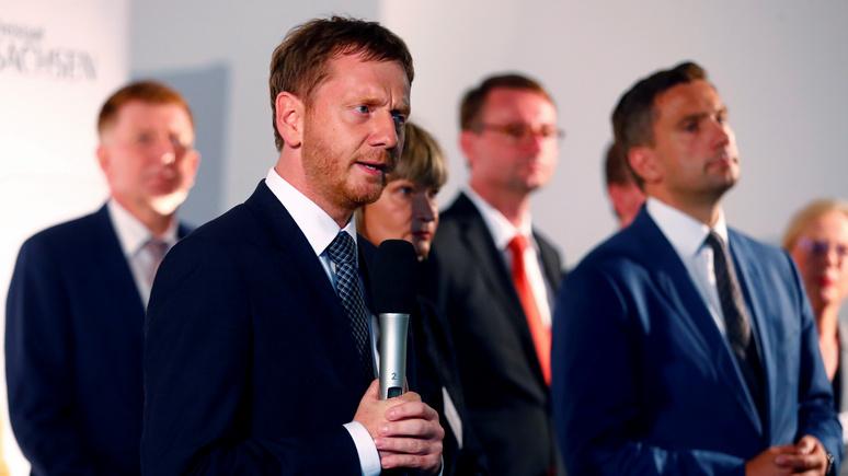 Немецкие региональные премьеры: большая часть граждан Германии выступает за отмену антироссийских санкций