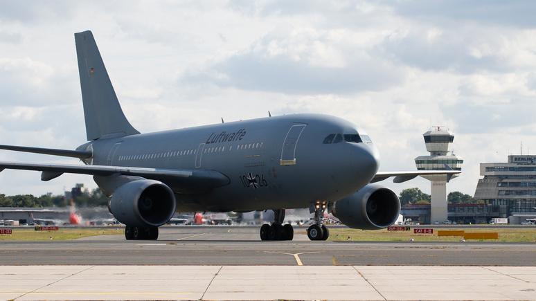 Spiegel: немецкие солдаты не смогли вылететь в Литву из-за неисправности самолёта