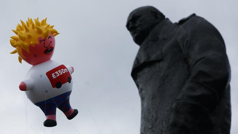 Обозреватель NYTimes: Черчилль презирал бы Джонсона