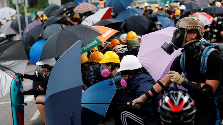 Frankfurter Allgemeine: в Пекине гонконгские протесты назвали «цветной революцией»
