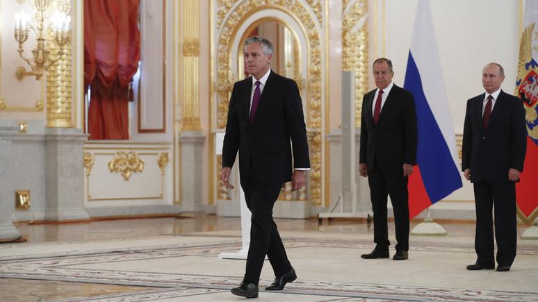 Guardian: не поможет никакая перезагрузка — посол США в России объяснил решение подать в отставку
