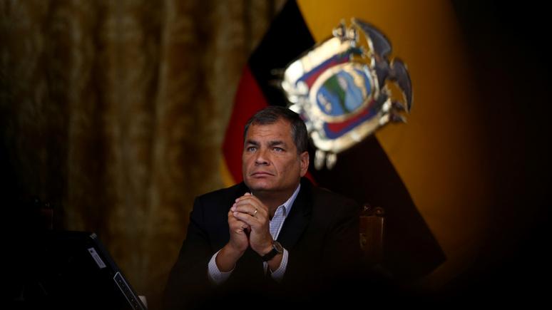 El Periódico: суд Эквадора потребовал заключить под стражу бывшего президента страны