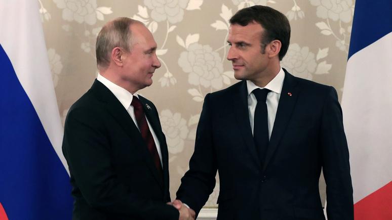 Le Figaro: встреча с Путиным и саммит «Большой семёрки» — Макрона ждёт дипломатически насыщенный август