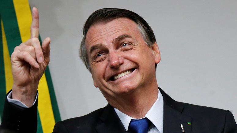 L'express: «ходите в туалет через день» — президент Бразилии нашёл решение экологических проблем