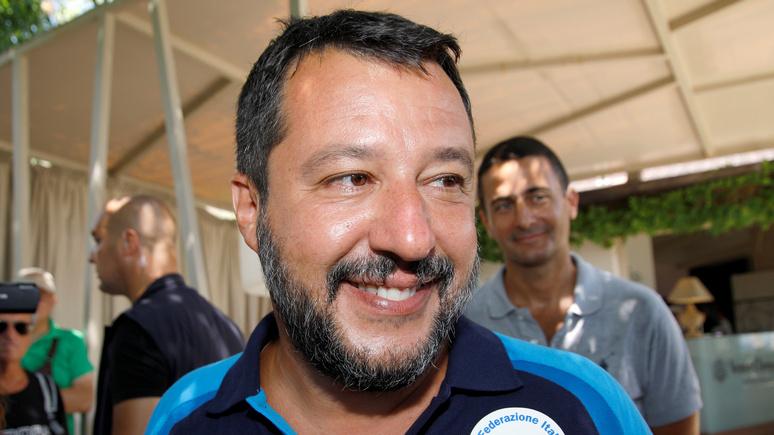 La Croix: на волне успеха Сальвини надеется стать премьер-министром Италии