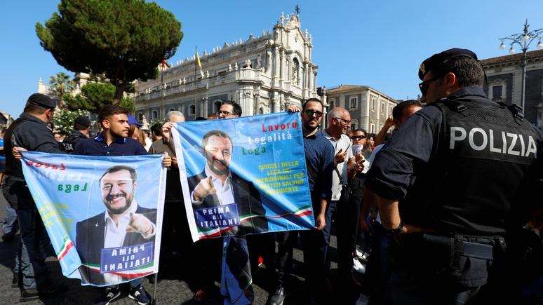 20 minutes: экс-премьер Италии опасается, что Сальвини доведёт страну до выхода из ЕС