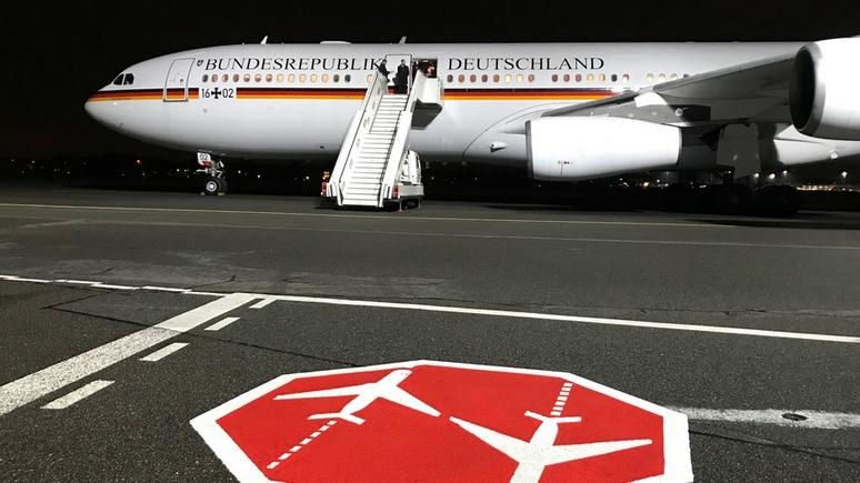Welt: четвёртая поломка за полгода — главе МИД Германии снова пришлось сменить самолёт