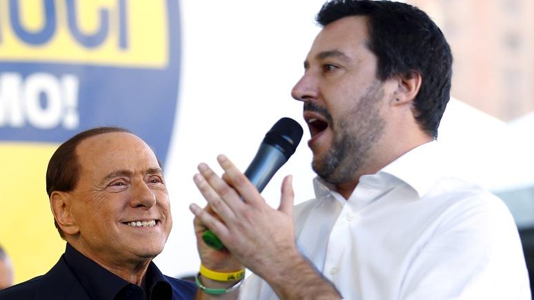 Times: Берлускони планирует своё возвращение — с помощью Сальвини