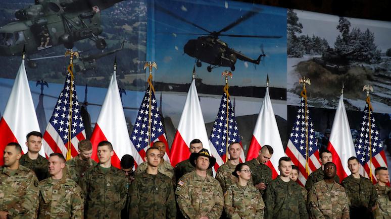Польский эксперт нашёл русский след в дискуссиях о выводе американских войск из Германии