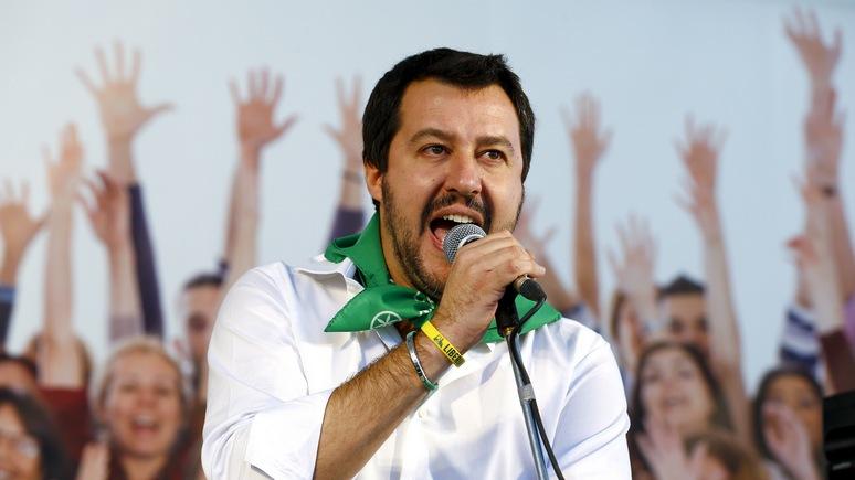 FAZ: Ренци объяснил, почему избрание Сальвини премьер-министром обернётся для Италии бедствием
