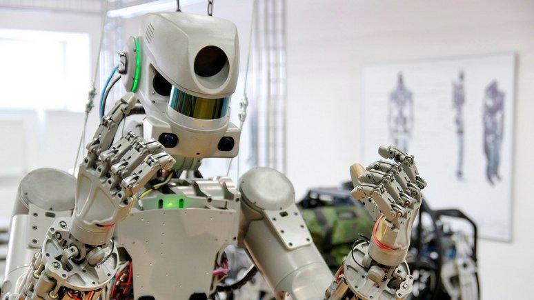 BFM TV: Российский робот-гуманоид готовится к полёту в космос