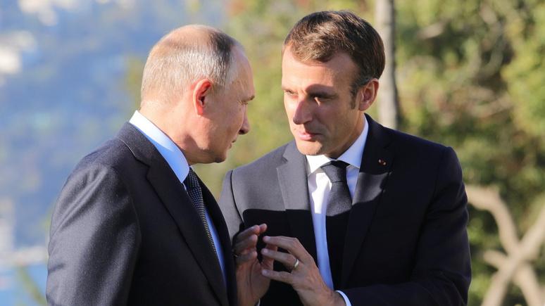 El País: во время визита Путина Макрон вновь попытается интегрировать Россию в Европу