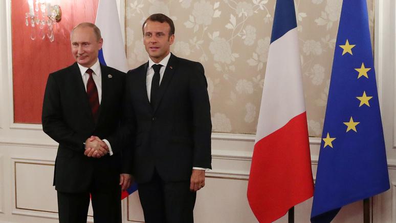 Le Figaro: Макрону стоит опасаться, как бы дзюдоист Путин не уложил его на лопатки