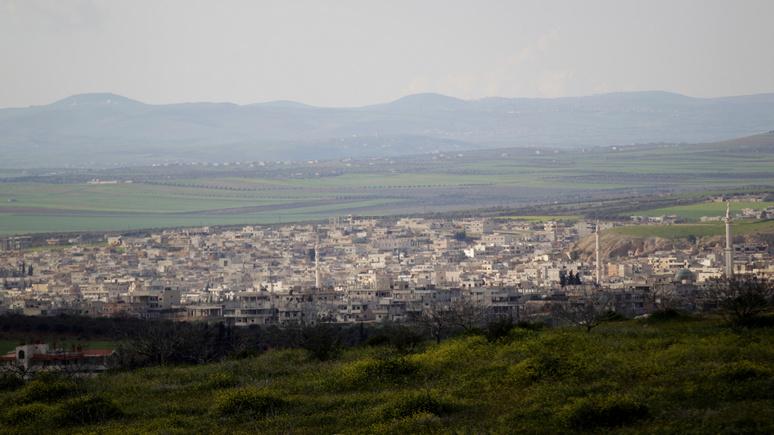 Guardian: сирийские правительственные войска захватили ключевой город провинции Идлиб