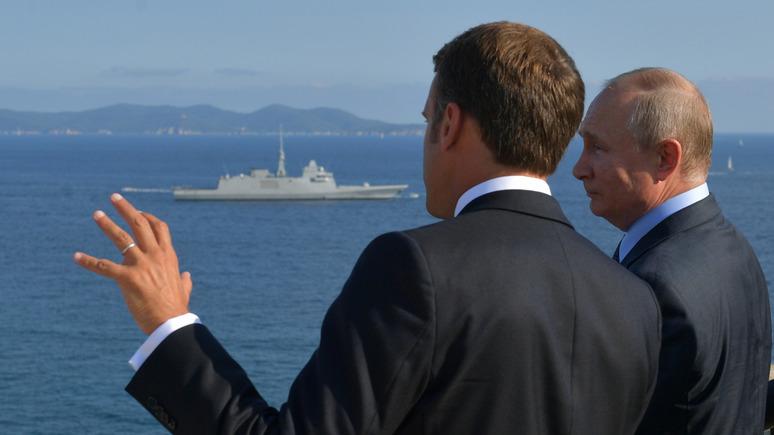 Advance: визит Путина во Францию — увертюра к возвращению в G8