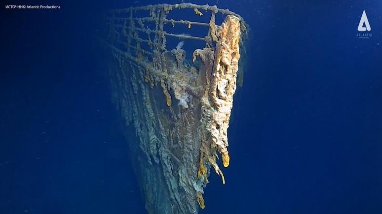 CNN: впервые за 14 лет эксперты смогли увидеть, что осталось от «Титаника»