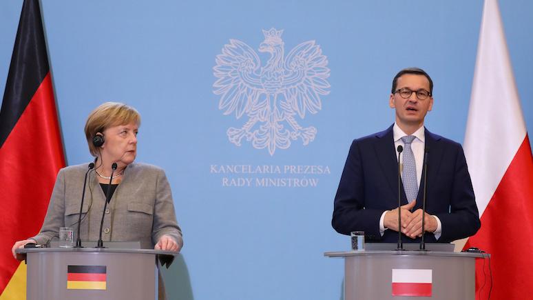 Na temat: требуя военные репарации у Германии, Польша играет с огнём