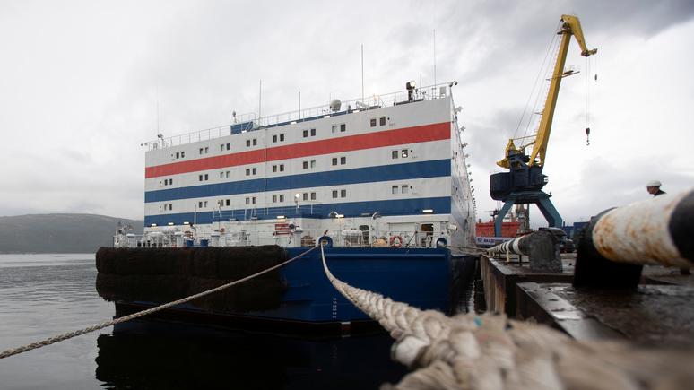 El Periódico: «Академик Ломоносов» поможет России в освоении Арктики