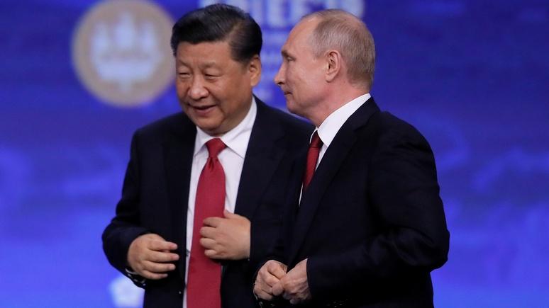 NI: США нужно сменить курс, чтобы разрушить «брак по расчёту» Москвы и Пекина