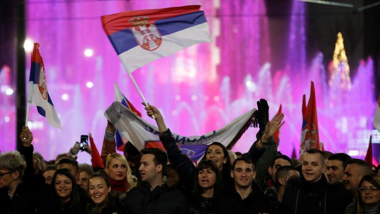 Blic: Балканы стали ареной для сведения счётов в новой холодной войне