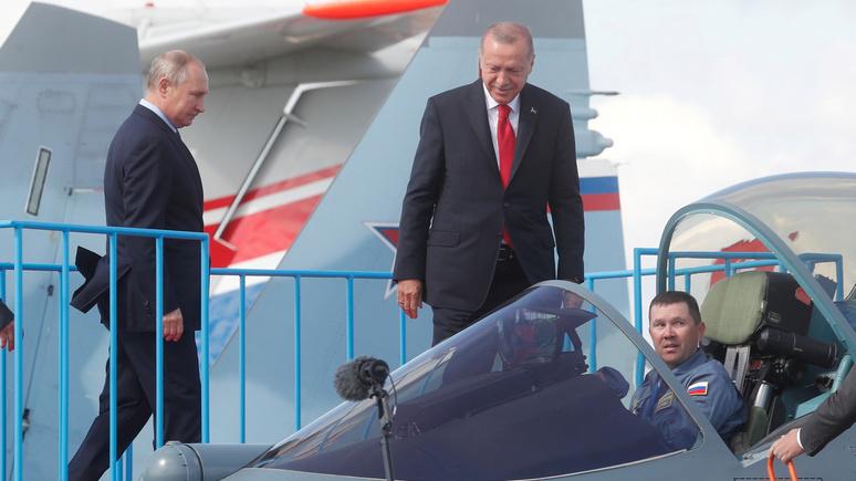 Обозреватель Hürriyet: визит Эрдогана в Москву стал посланием для Вашингтона