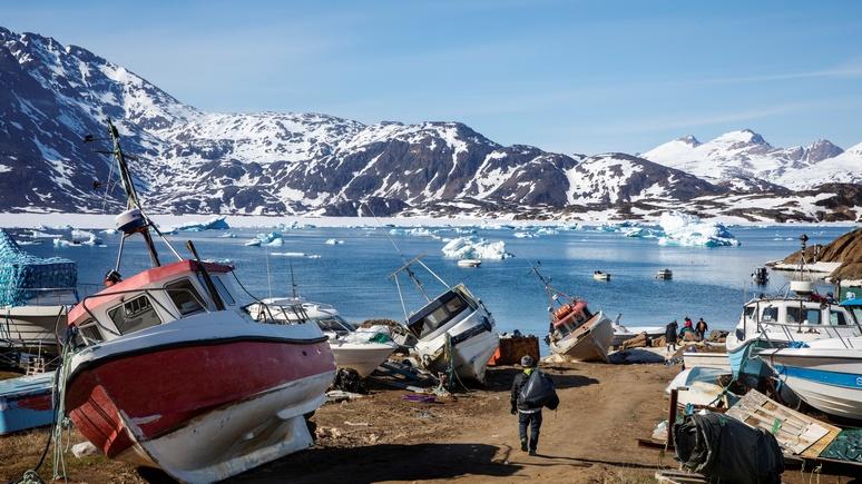 Daily Express в шоке: Москва с пониманием отнеслась к идее Трампа купить Гренландию