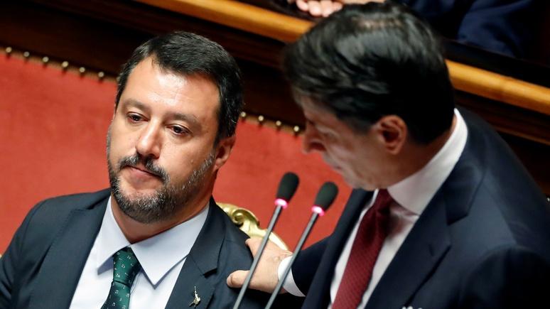 La Vanguardia: Движение пяти звезд и Демократическая партия загоняют Сальвини в оппозицию