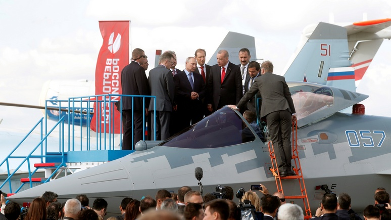 T-Online недоумевает: Россия едва не воюет с Турцией в Сирии, но поставляет ей оружие
